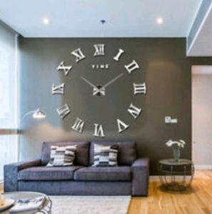 3D dekorativni zidni sat satovi