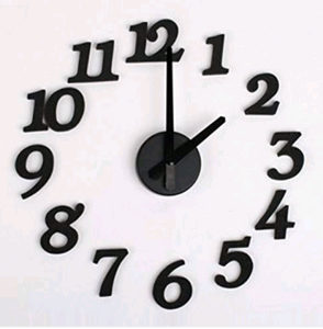 dekorativni zidni sat satovi 100cm 3D