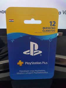 PlayStation Plus 365 dana HR Hrvatska PS3/PS4/VITA