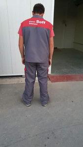 Radna odijela Ross sivaona