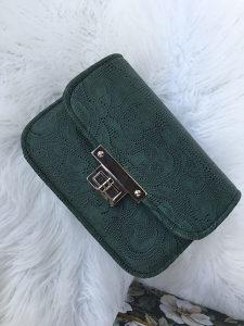 Ženska zelena torba