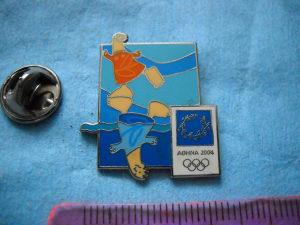 Značka olimpijada Atina 2004. god.