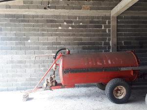 Cisterna creina 2700litara