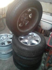 Auto gume komplet Mercedes