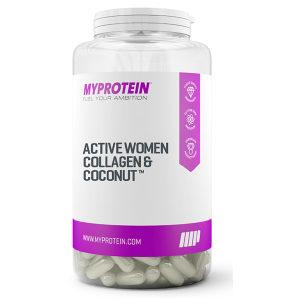 Myprotein Active Woman Collagen & Coconut 180 kapsula