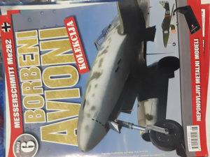 Maketa aviona Messerschmitt Me262