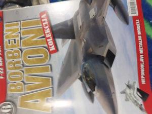Maketa aviona F-22 Raptor