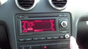 AUDI A3  BNS 5.0 CD-MP3 NAVIGACIJA