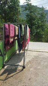 Ram za sušenje tepiha