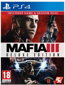 Mafia III 3 Deluxe Edition (PlayStation 4 - PS4)