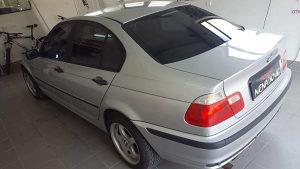 BMW e46 benzin-plin