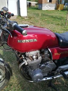 Honda CB 650 RC03