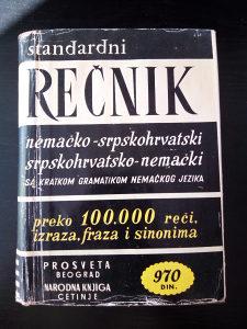 Rečnik Nemačko Srpskohrvatski i obratno sa Gramatikom
