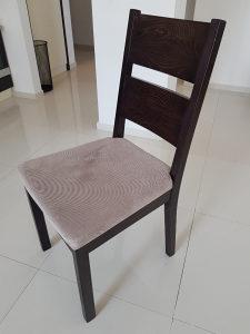 Trpezarijski sto + 4 stolice puno drvo