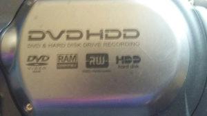 Hitachi hdd dvd kamera