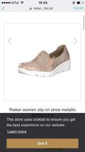 Zenske cipele Rieker