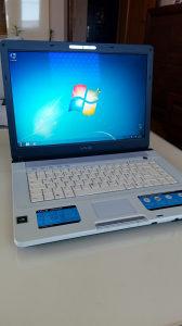 Laptop Sony CoreDuo 2x1660/160 disk/2gb/256 grafika