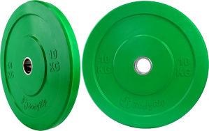 Olimpijski tegovi 10kg Bumperi sa prstenom 062/546-546