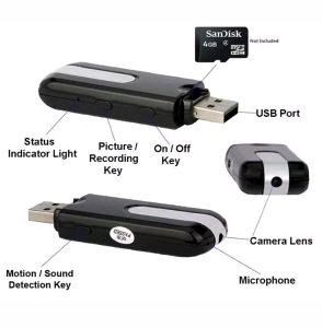 Spijunska kamera - USB HD snimak