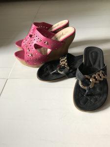 Zenske elegantne papuce