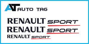 """Stikeri i auto naljepnice/naljepnica RENAULT SPORT-,"""".!"""