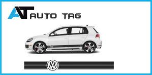 Stikeri i auto naljepnice/naljepnica za VW- GOLF!