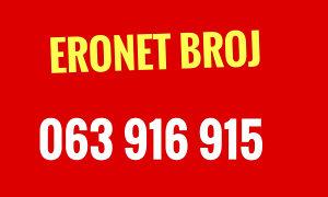 Eronet broj 063 916 915