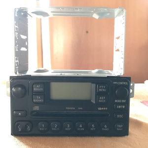 Audio player TOYOTA