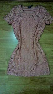 Blijedo roza haljina
