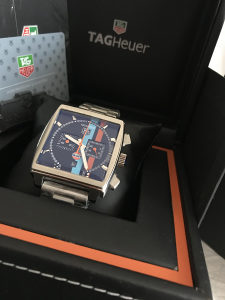 Tag Heuer Gulf Limited Edition Monaco Stainless Steal