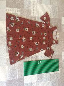 Cvijetna pull&bear haljina