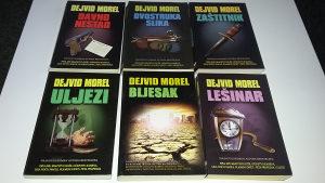 Dejvid Morel (David Morrell) - 6 knjiga