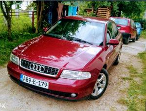 Audi a4 b5 facelift prednji branik