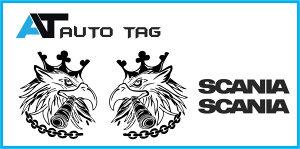 Stikeri i auto naljepnice/naljepnica za kamion SCANIA!.