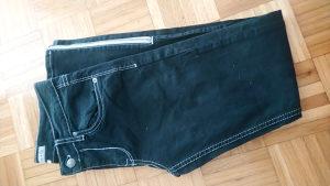 Ženske farmerke pantalone skiny M crne