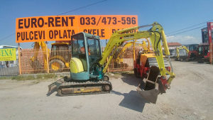 Mini bager Yanmar Vio30, 2004.god