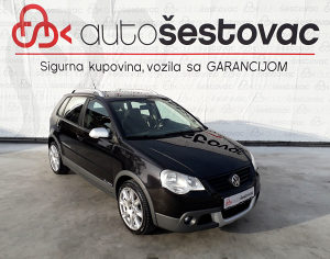VW POLO CROSS 1.9 TDI 2007