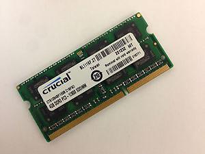Memorija Crucial RAM 4GB DDR3L 1600