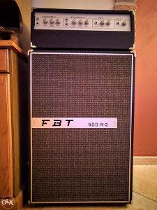 Gitarsko pojacalo FBT 500-R2 (LAMPAŠ)