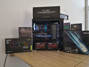 Konfiguracije AMD RYZEN 3 5 7 RX 560 570 580 VEGA56 64
