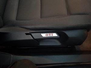 VW golf 5 6 znak GTI umetci sjediste oznaka golf V VI