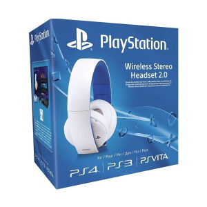 PS4 Wireless Stereo Headset 2.0 Boxed White