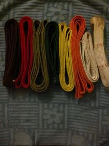 Pojas za karate(više boja)