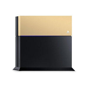 PS4 Custom Faceplate Gold - Playstation