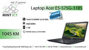 Laptop Acer E5-575G-31BS i3/4GB/1TB/GTX 950M