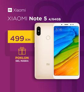 XIAOMI REDMI NOTE 5 / 4GB RAM / 64GB ROM / DUAL SIM
