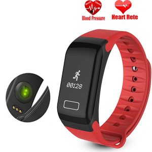 Smartwatch BRACELET F1 Red -18399 (7943)