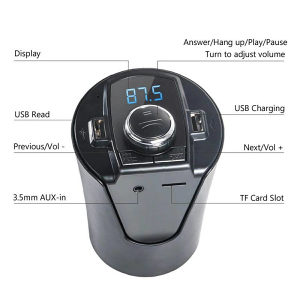 FM transmiter Bluetooth punjac 5u1 uredjaj