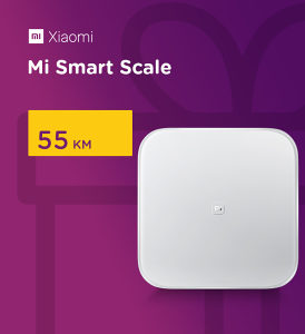 XIAOMI MI SMART SCALE - PAMETNA VAGA (WHITE)
