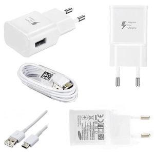 Brzi Punjač sa USB Type-C kablom za Samsung, Huawei, LG